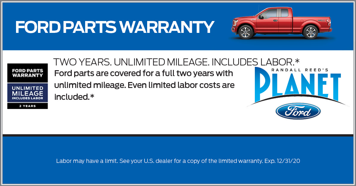 Ford Part Warranty