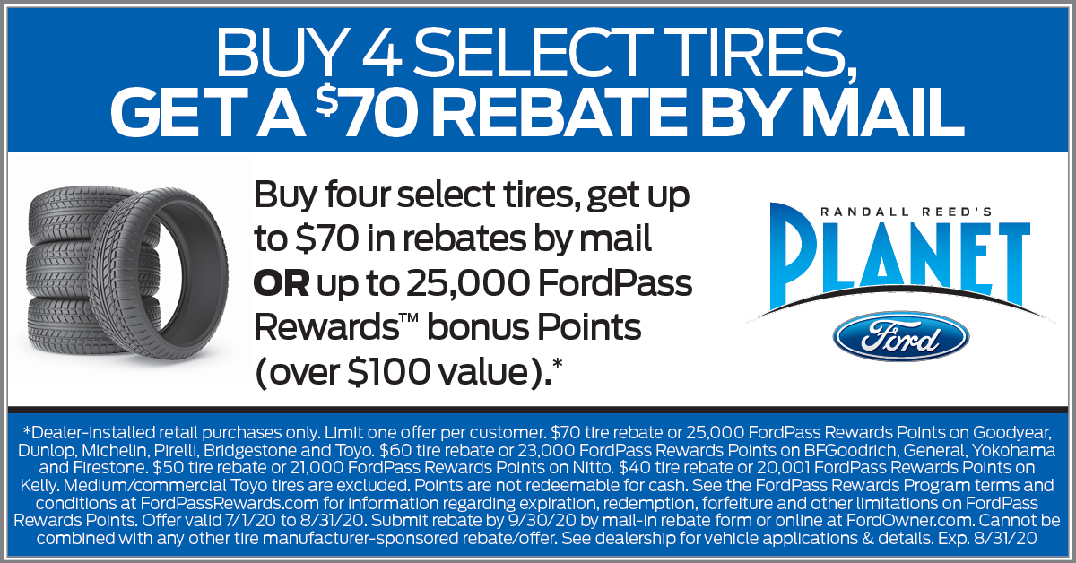Planet Ford Tire Special - Houston Ford Area Dealer