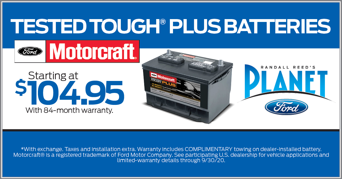 Motorcraft Battery