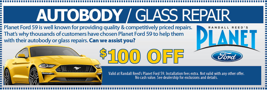 Planet Ford 59 >> Collision And Repair Specials Randall Reed S Planet Ford 59